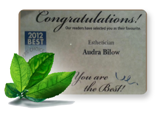 Readers' Choice Awards - Audra Bilow Domich