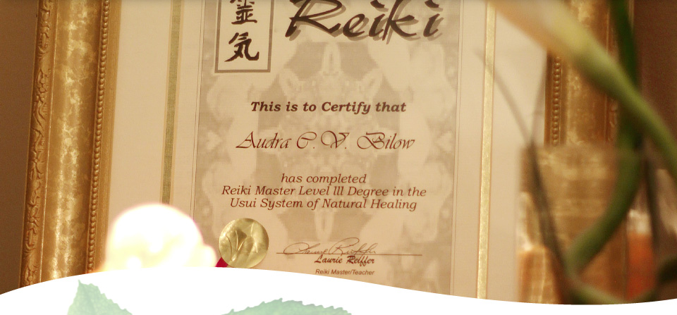 Reiki Master Level 3 Degree
